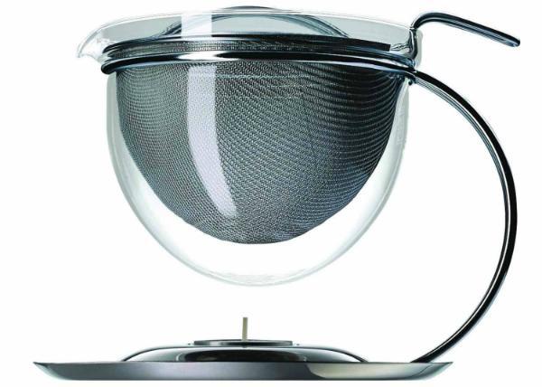 mono filio Teekanne mit integriertem Stoevchen