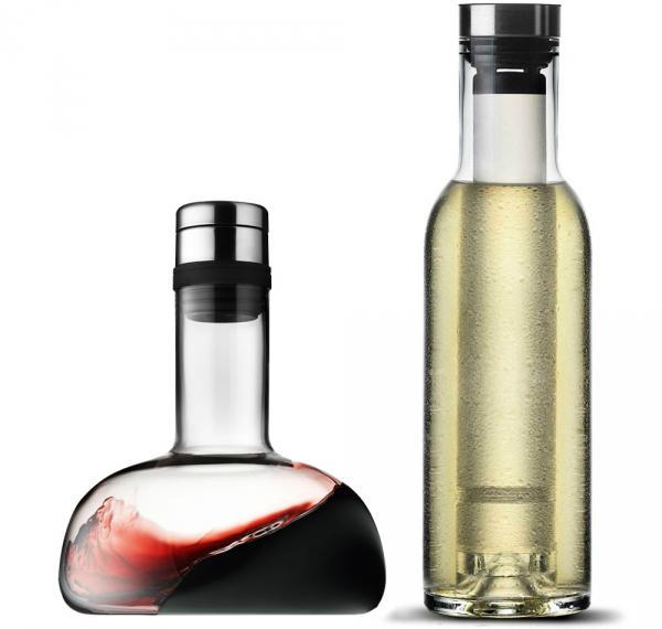 Weindekantierkaraffe und Cool Breather von menu