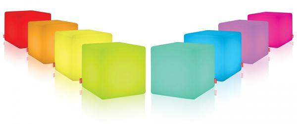 Cube Outdoor mit Fernbedienung LED Leuchte