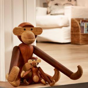 Kay Bojesen Affe fuer die Spielecke im Kinderzimmer