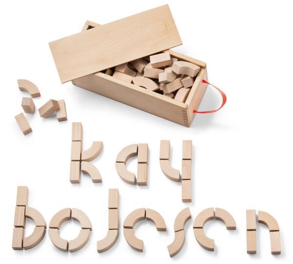 Kay Bojesen Alphabet Holzbausteine