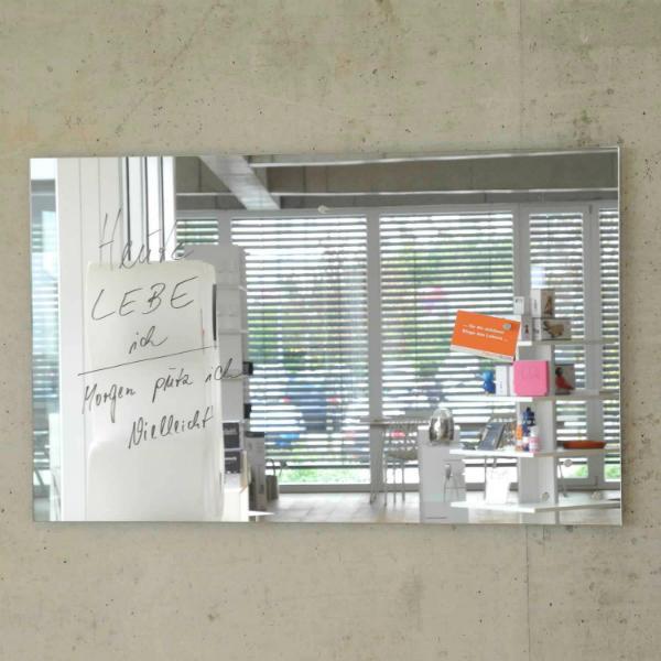 Spiegel Magnetwand 80x50 cm von raum-blick