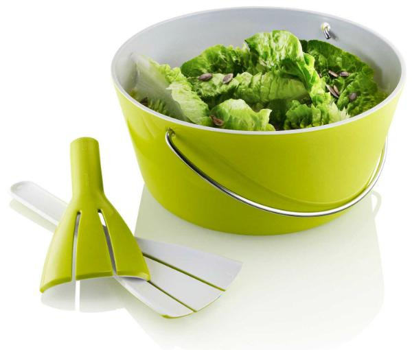 eva solo Schale mit Henkel und Salatbesteck