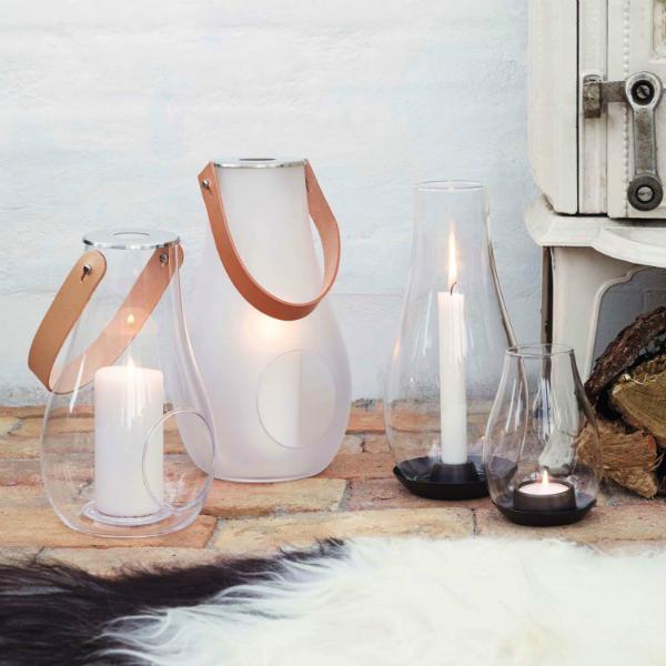 Holmegaard Design with Light fuer Teelichter und Tafelkerzen
