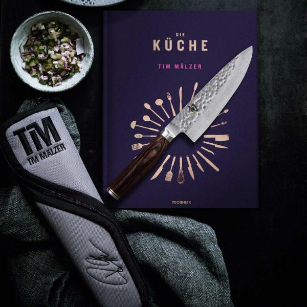 KAI Set Kochmesser TDM-1723 Tim Maelzer Kochbuch Tasche