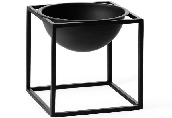 Kubus Bowl by Lassen Schale aus lackiertem Edelstahl