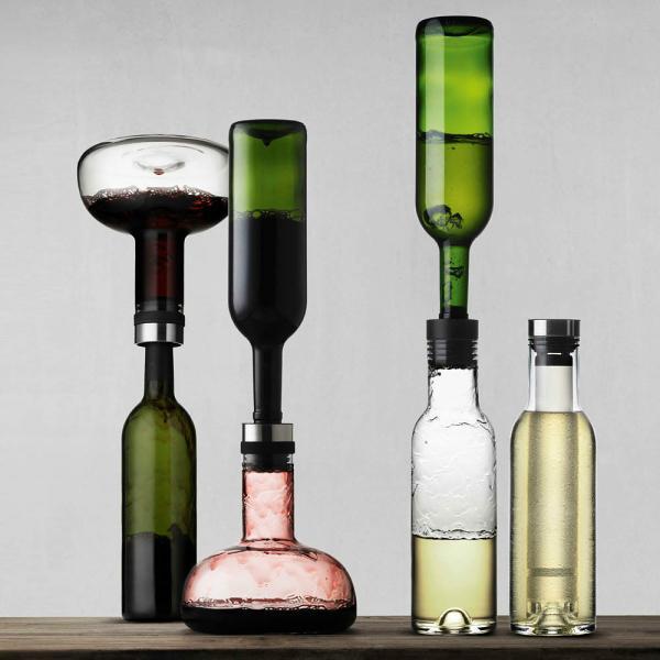 Weindekantierkaraffe und Cool Breather New Norm von menu