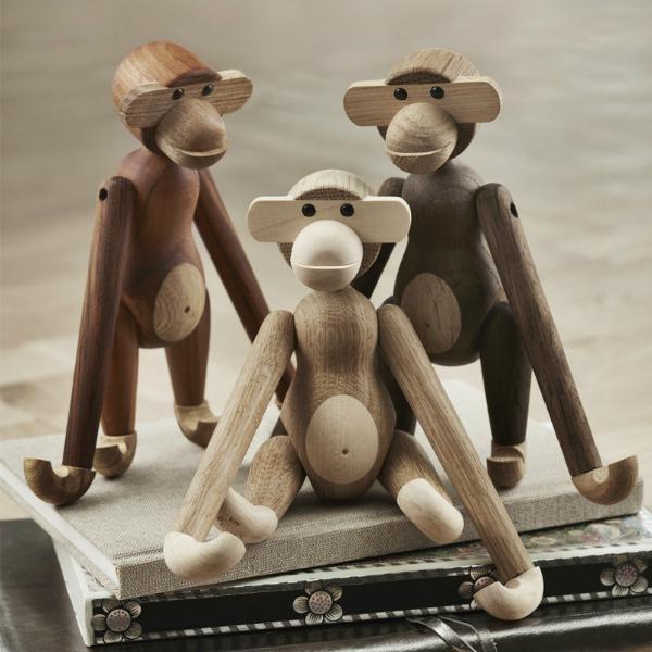 Affe Holzfigur von Kay Bojesen