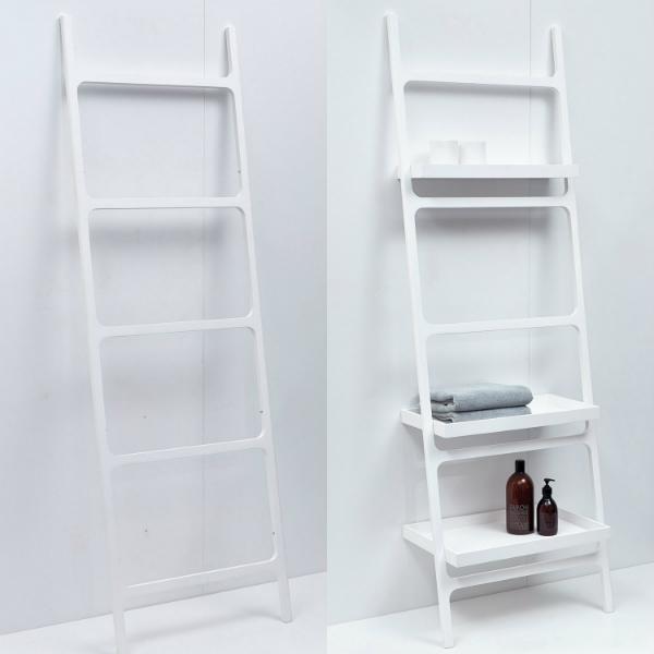 Handtuchleiter mit oder ohne Ablage