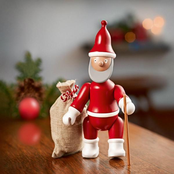 Kay Bojesen Weihnachtsmann Holz-Figur