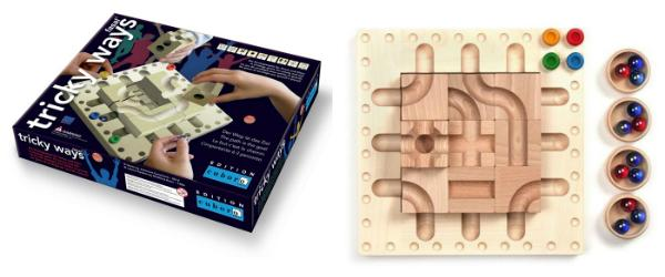 cuboro tricky ways Brettspiel