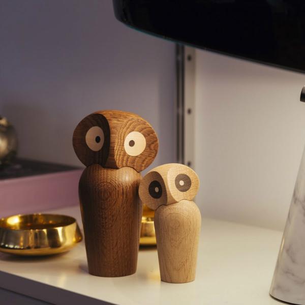 Holzeule Owl von Architectmade
