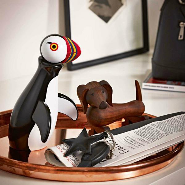 Holzfigur Papageitaucher von Kay Bojesen