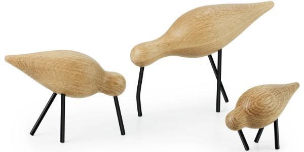 Holzfigur Shorebird von Normann Copenhagen