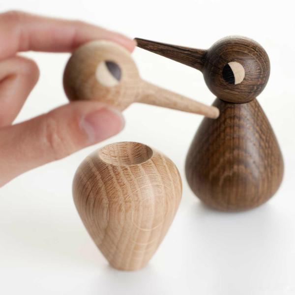 Holzfiguren Birds von Architectmade
