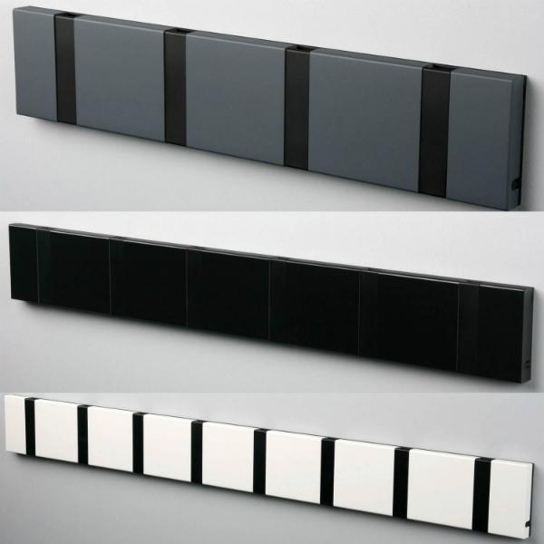 LoCa KNAX Garderobe mit schwarzen Haken