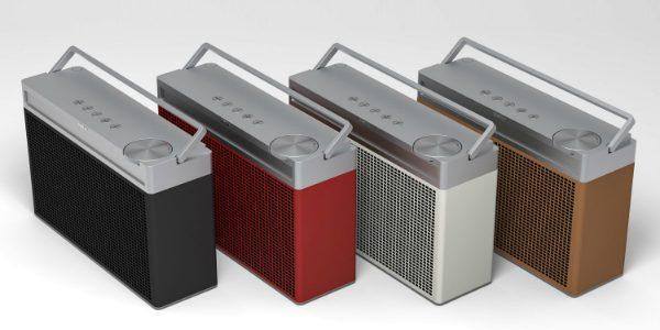 Tragbares UKWDAB-Plus Radio mit Bluetooth