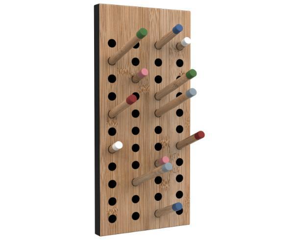 We Do Wood Scoreboard small Garderobe aus Bambus