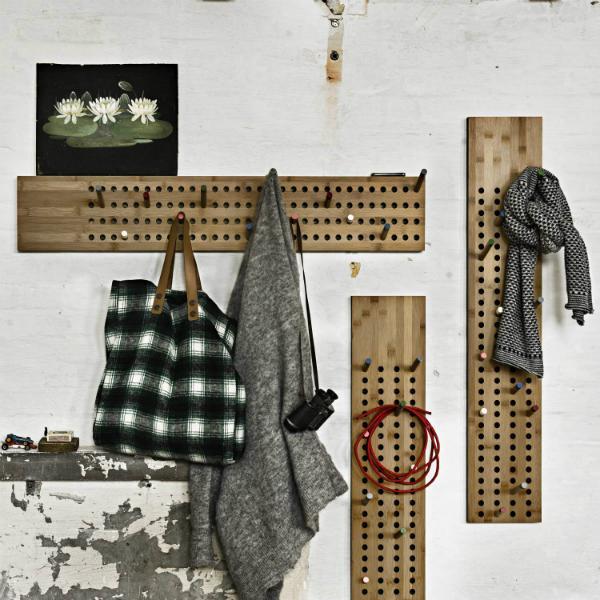 We Do Wood Scoreboard vertikal Garderobe aus Bambus