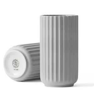 lyngby-porzellan-vase-hellgrau