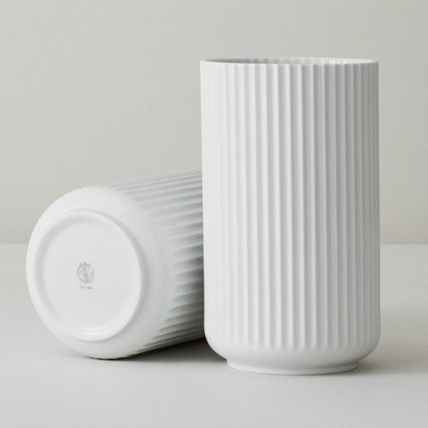 lyngby-porzellan-vase-weiss