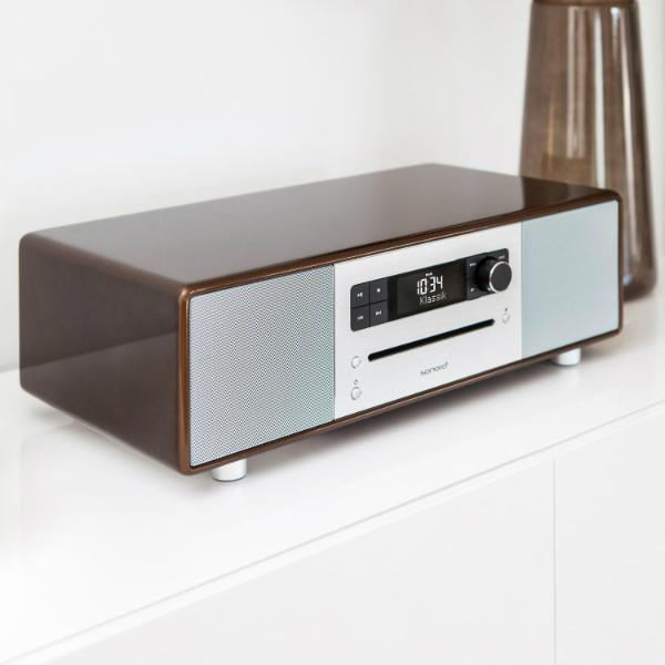 sonoroSTEREO 2 Design Stereo Musiksystem mit Bluetooth Technologie