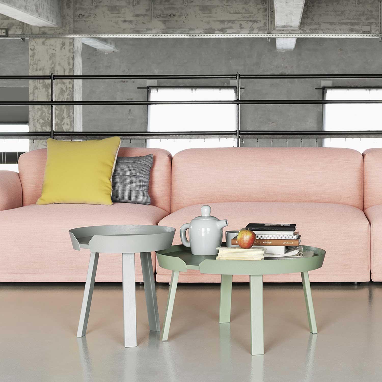 die sch nsten design beistelltische in runder form raum. Black Bedroom Furniture Sets. Home Design Ideas
