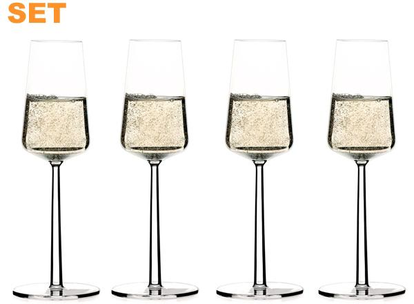 iittala-essence-champagnerglas-4er-set