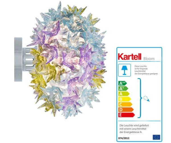 kartell-bloom-wandleuchte