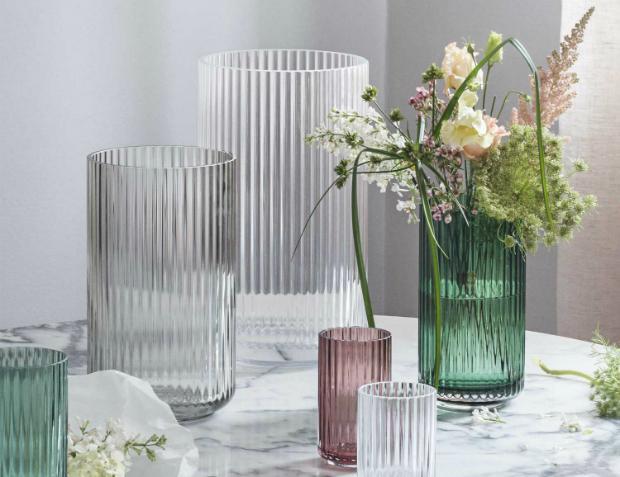 Lyngby Porcelæn Glas-Vase