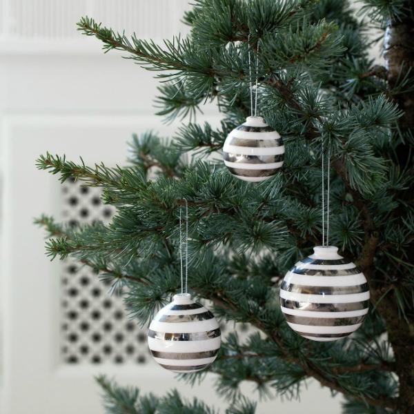 kaehler-omaggio-christbaumkugeln-3er-pack