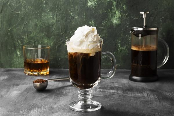 Irish Coffee mit Whisky