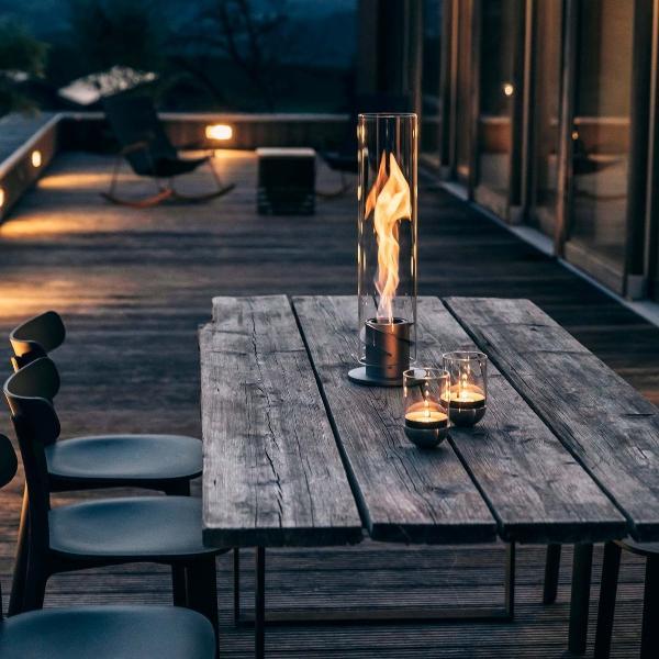 hoefats-spin-windlicht Sommerabend auf der Terrasse