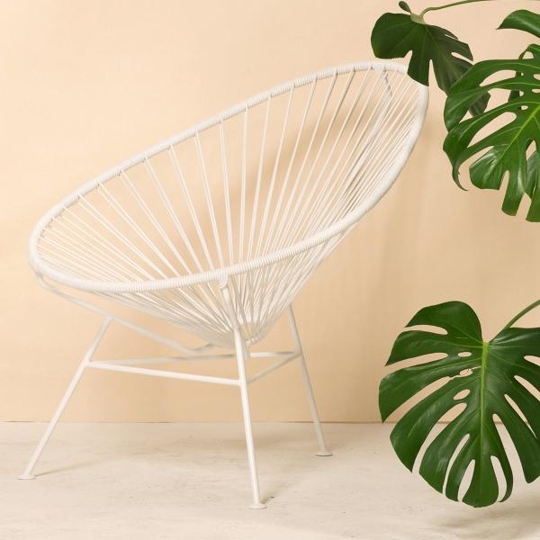 OK Design Acapulco Chair weiss