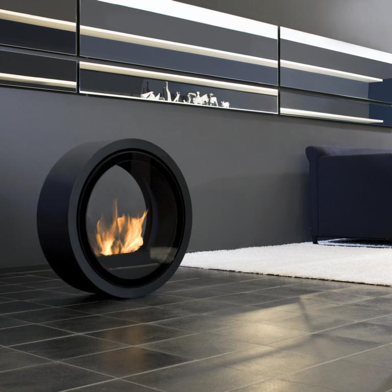 conmoto-roll-fire-feuerstelle Moderne Designkamine