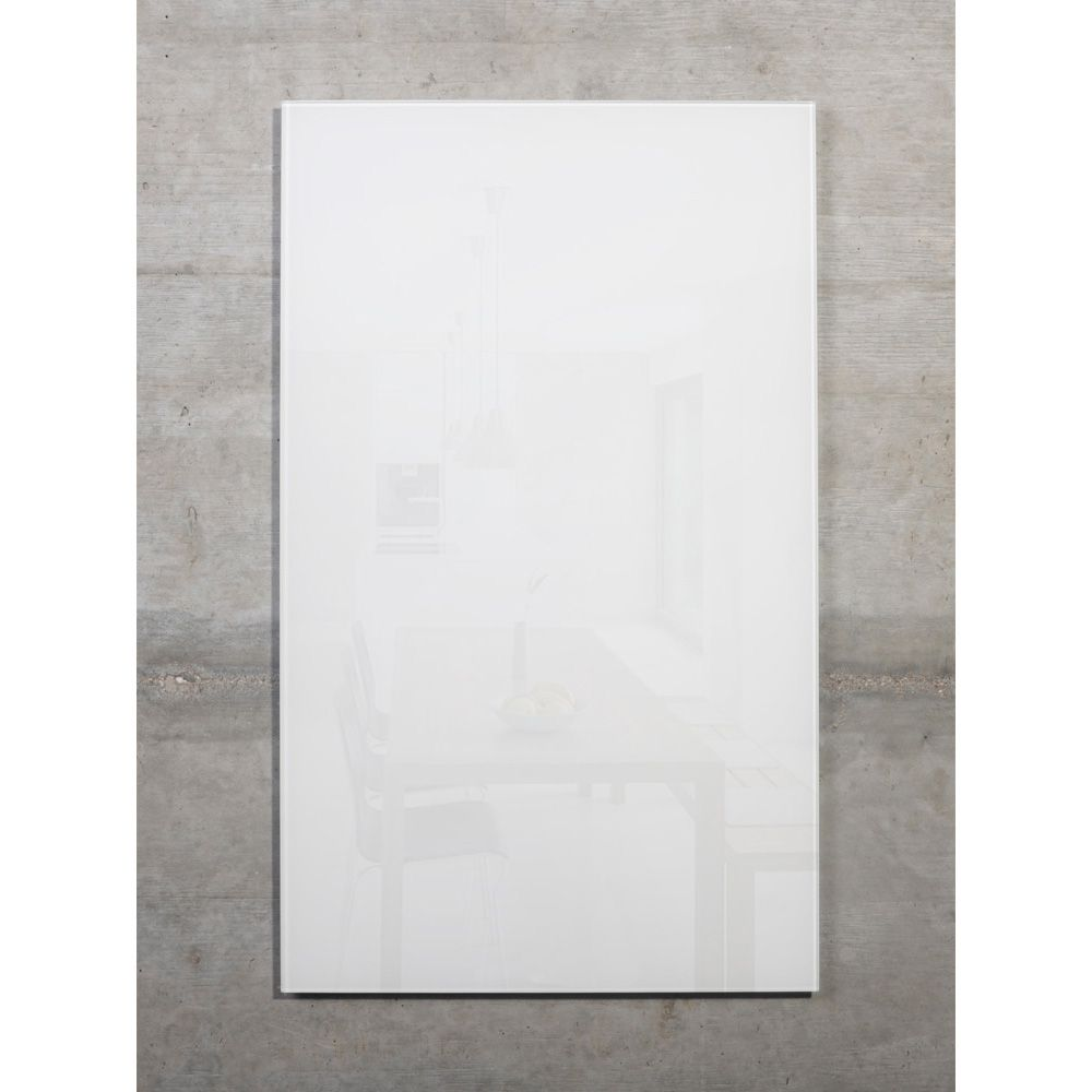raum-blick Glas Magnetwand MAX 50x30 cm weiss M2-W-3