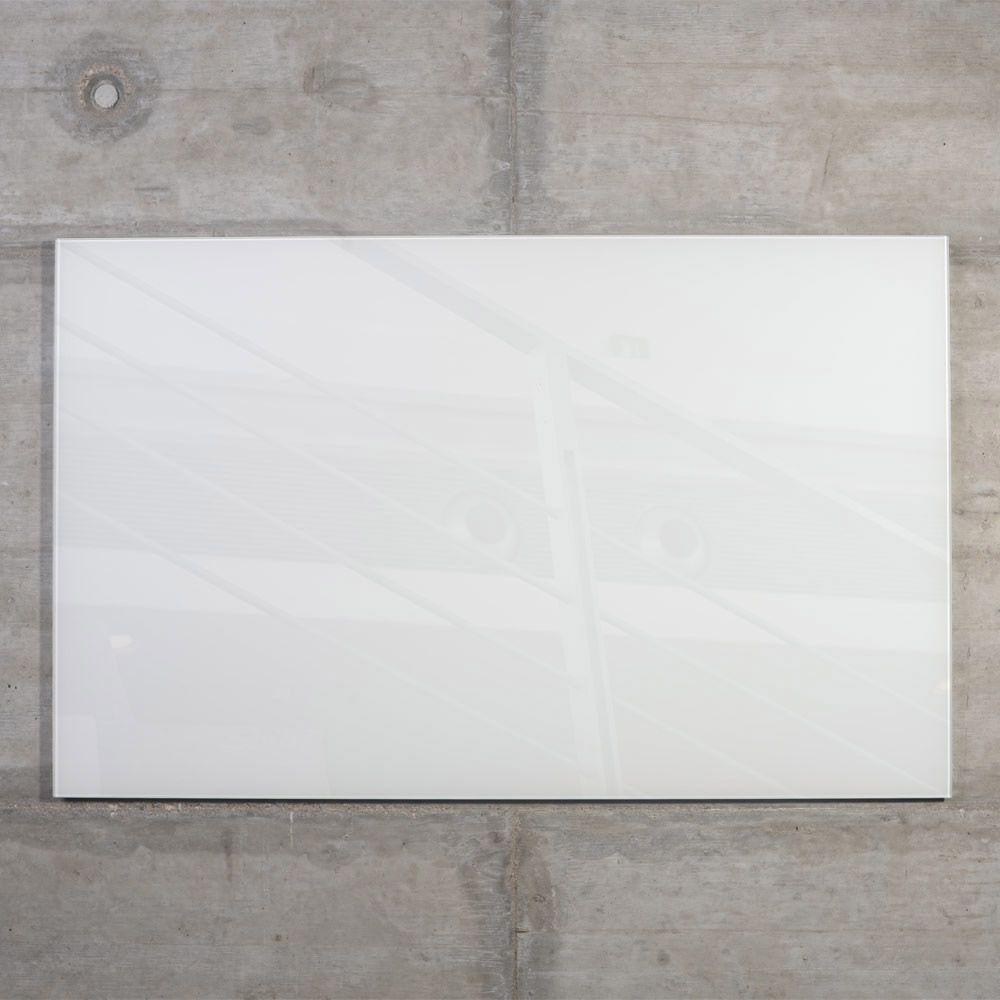 raum-blick Glas Magnetwand MAX 60x40 cm weiß M10-W-2