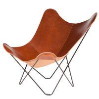 Cuero - Pampa Mariposa Butterfly Chair