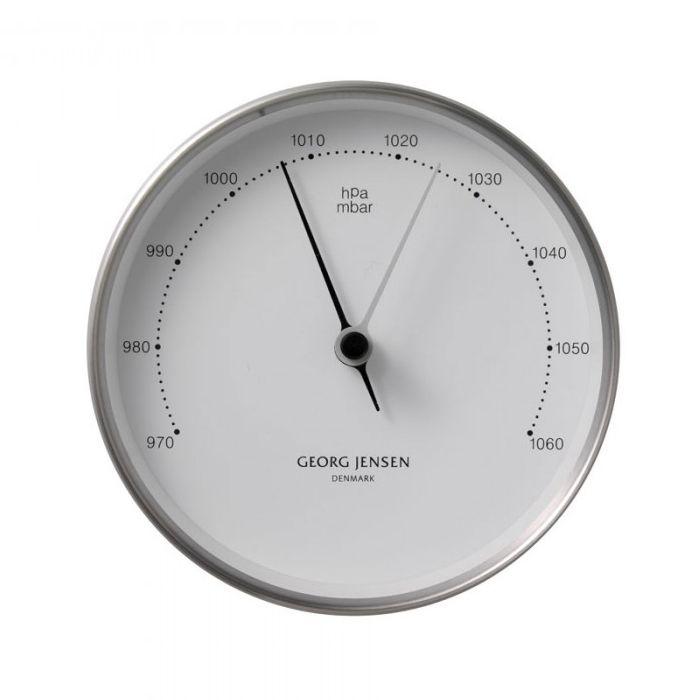 Georg Jensen - Barometer edelstahl-weiß 3587586