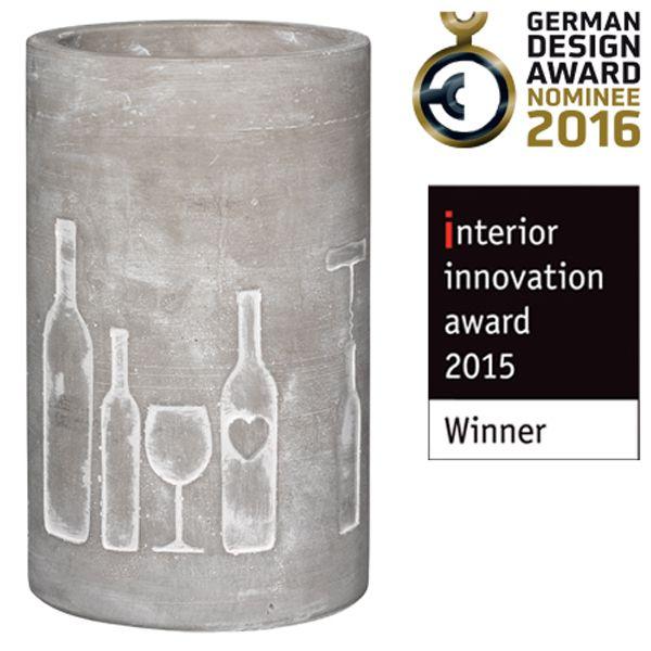 Räder Design – Weinkühler Beton Flasche... 0010403