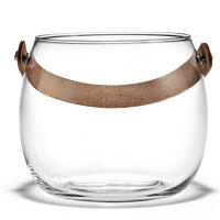 Holmegaard - Design with Light Glasschale mit Lederhenkel