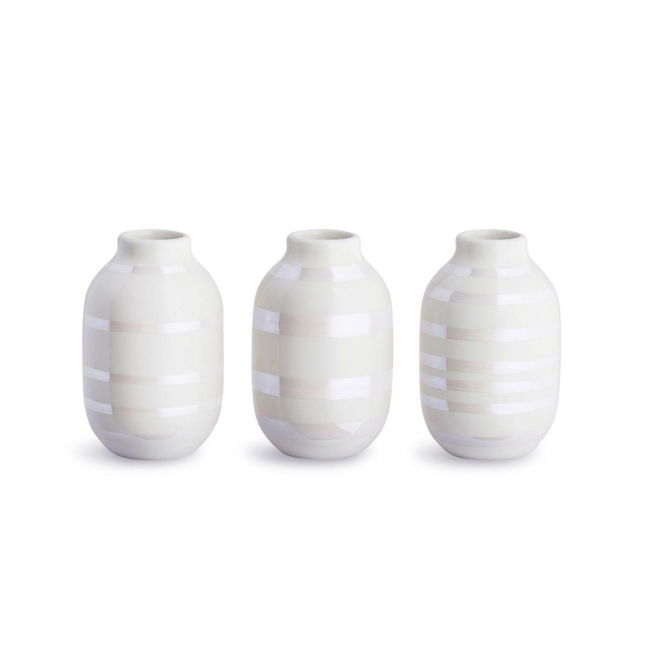KÄHLER DESIGN Kähler - Omaggio Vase Mini (3 Stk.) 16053