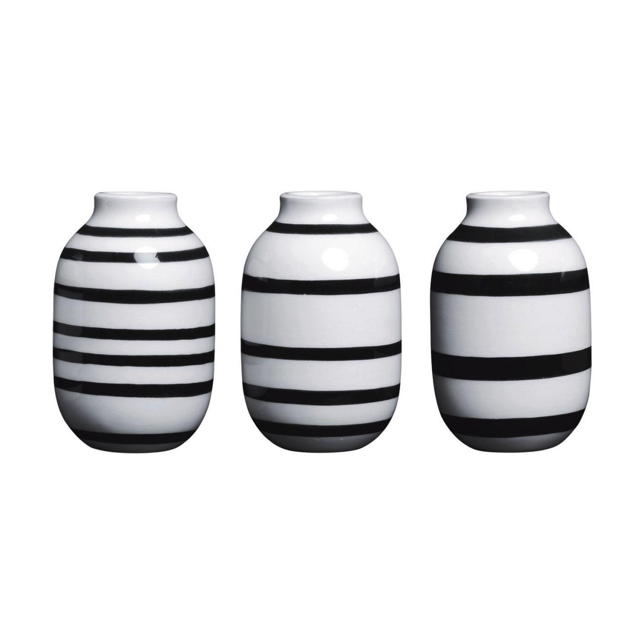 KÄHLER DESIGN Kähler - Omaggio Vase Mini (3 Stk.) 12800