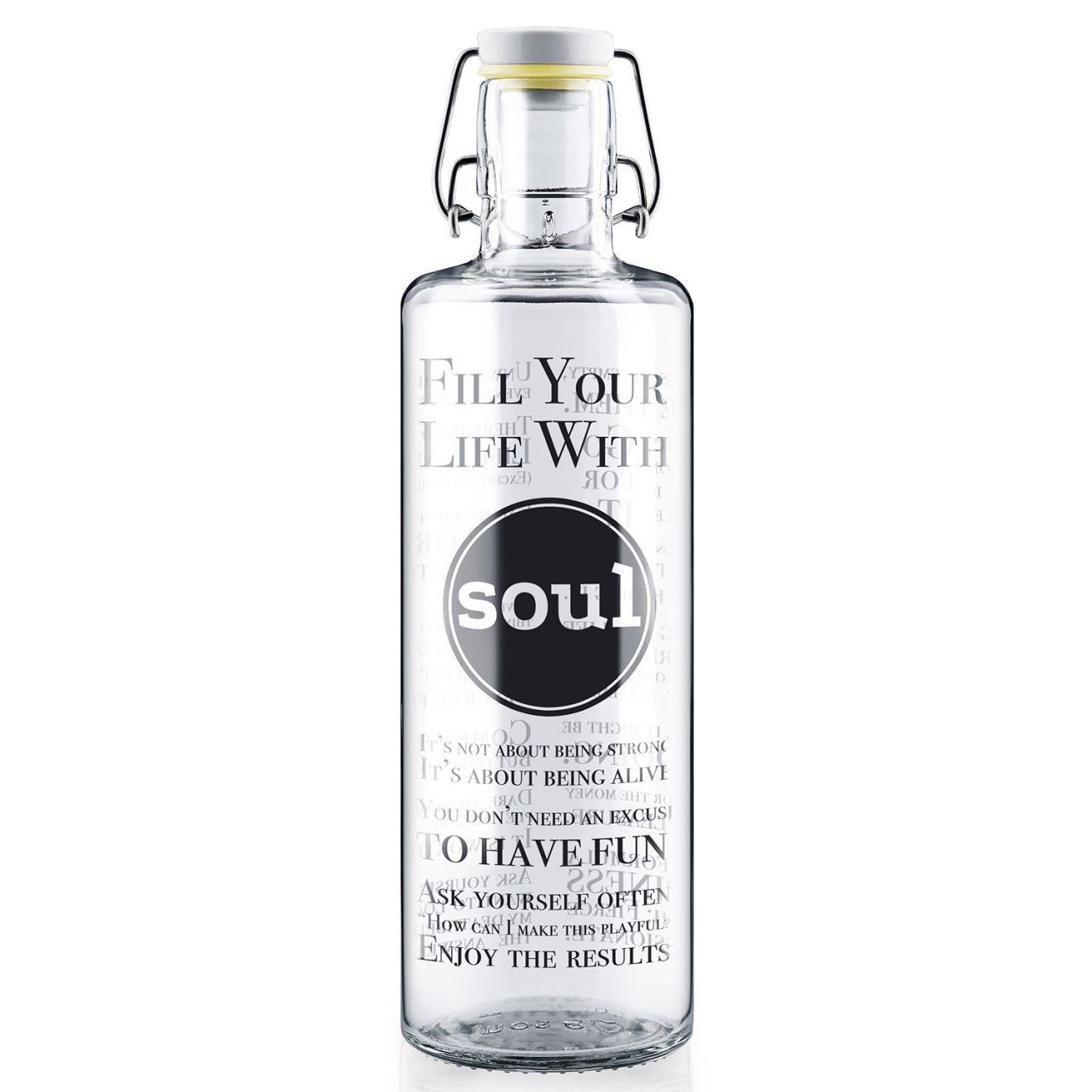 soulbottles - Fill your Life with soul Glastrinkflasche SB10-01