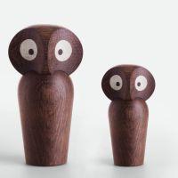 Holzeule Owl Architectmade