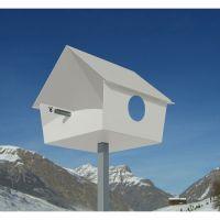 Vogelhaus Piep Show XXL farbig von radius design