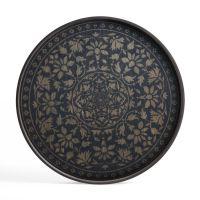 Ethnicraft Notre Monde - Tablett L rund
