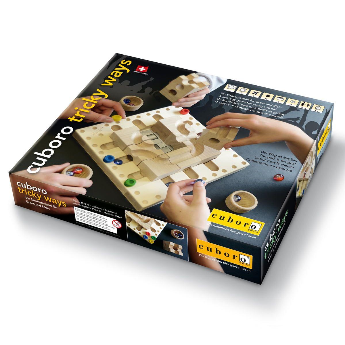 cuboro tricky ways Brettspiel 0190