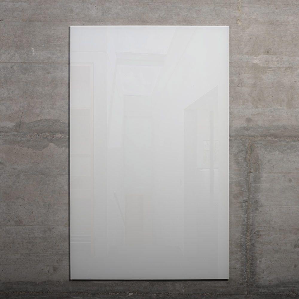 raum-blick Glas Pinnwand MAX 80x50 cm weiss M4-W-4