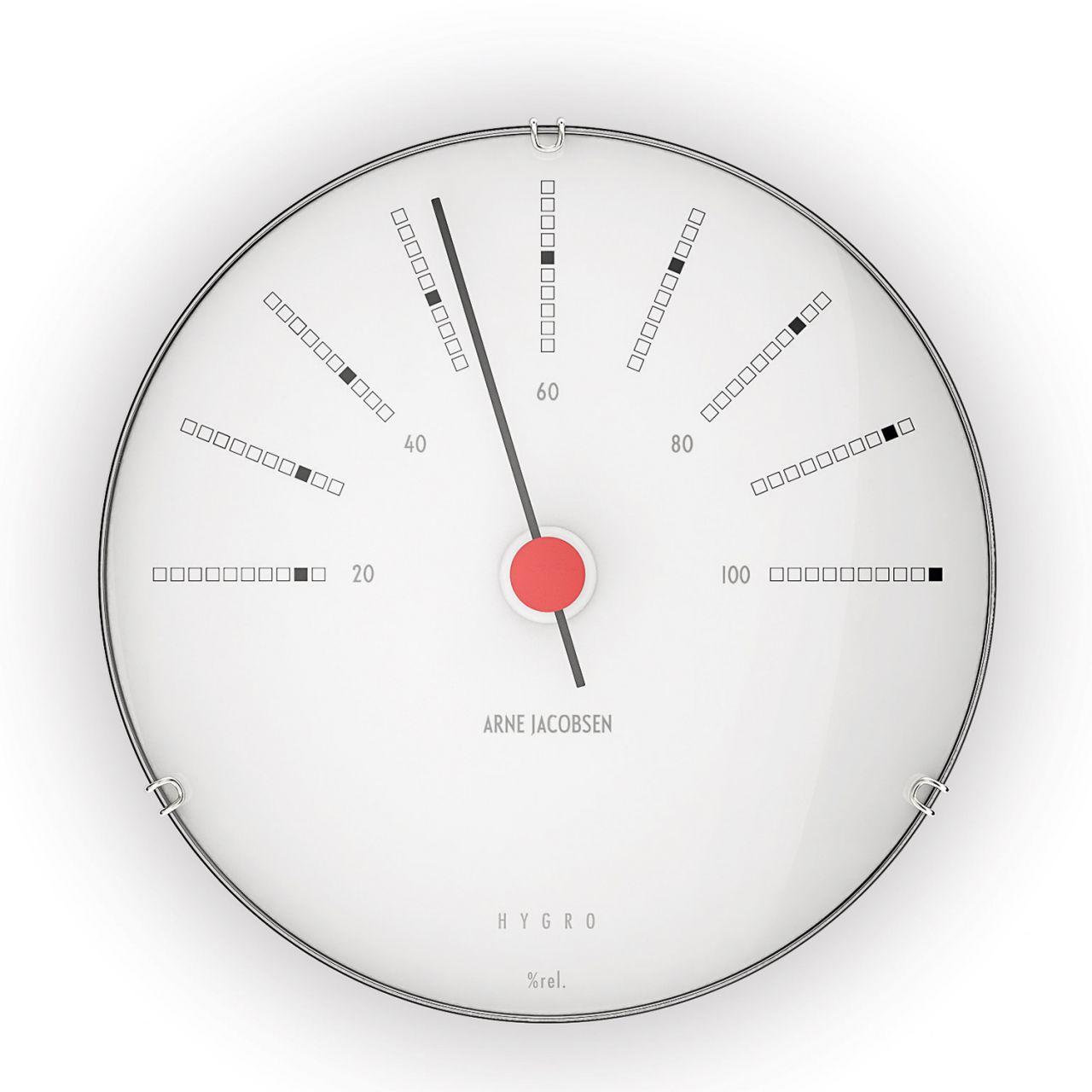 Arne Jacobsen - Bankers Hygrometer Wetterstation 43685